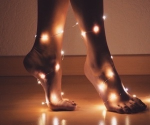 light, feet, and tumblr image