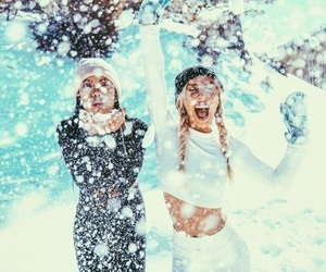 cold, photoshoot, and snow image