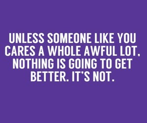 Dr. Suess, purple, and quotes image