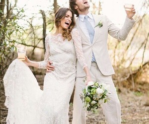 ian somerhalder, nikki reed, and wedding image