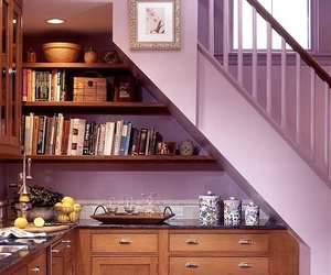 books, cooking, and decor image