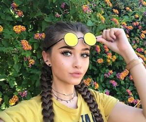 braids, girl, and makeup image