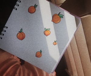 aesthetic, apricot, and art image