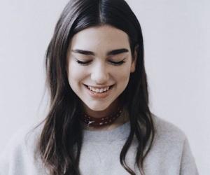 dua lipa and smile image