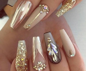 nails, beauty, and design image