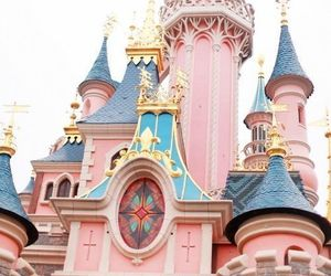 castle, pixie dust, and glitter image