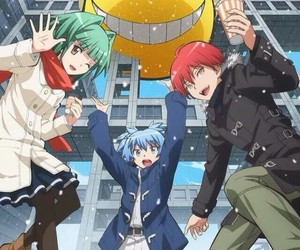 assassination classroom, anime, and karma image