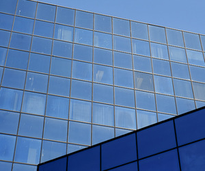 blue, building, and skyscraper image