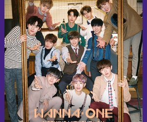 album, nothing without you, and wanna one image