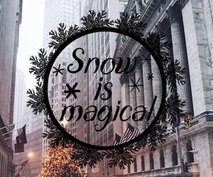 magic, love, and snow image