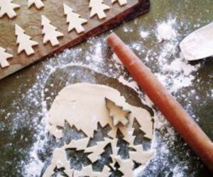 christmas, Cookies, and baking image