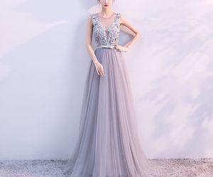 dresses, elegant, and evening dress image