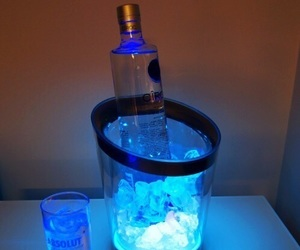 vodka, alcohol, and blue image