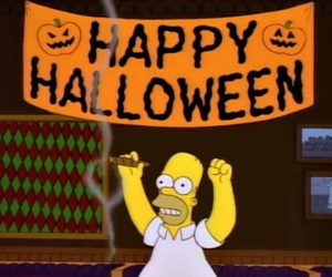 Halloween and the simpsons image