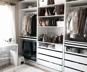 closet, fashion, and design image
