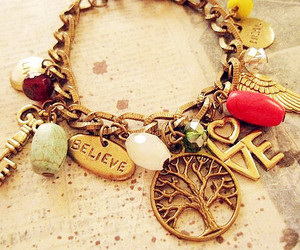 love, bracelet, and believe image