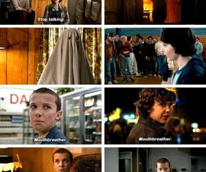 eleven, jane, and stranger things image