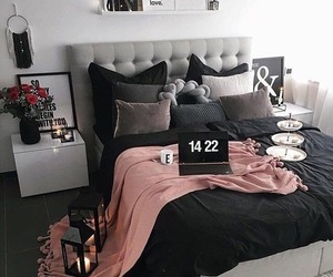 bedroom, interior, and simple image