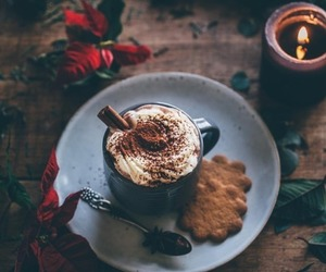 winter, coffee, and chocolate image