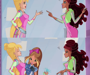 art, winx, and winx club collage image