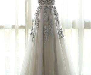 modest prom dress, prom dress lace, and prom dress simple image