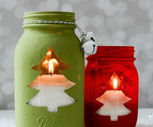 diy gift idea, diy candle, and diy christmas candles image