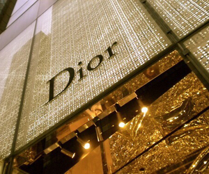 dior, gold, and luxury image