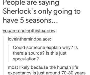 bbc, funny, and holmes image