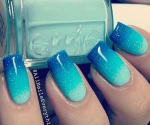 beach, essie, and summertime image