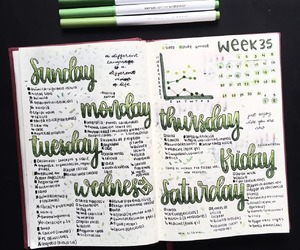 tumblr, bujo, and bullet journal image