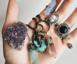 crystal, jewellery, and jewelry image