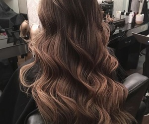 hair, hairstyle, and goals image