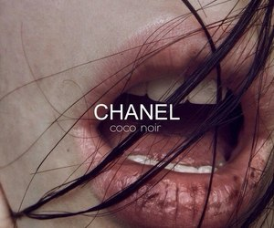 chanel, lips, and hair image