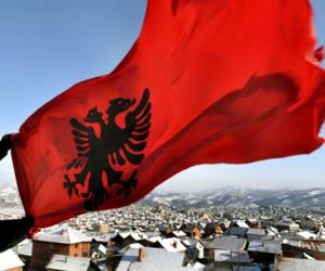 albania and flag image