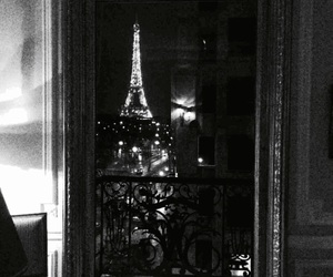 gif, paris, and lights image