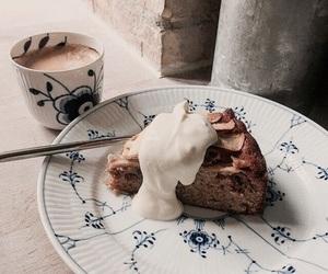 cake, coffee, and dessert image