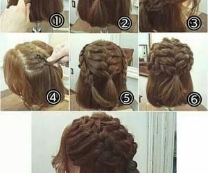 diy, hair, and peinado image