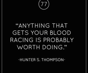 quotes, blood, and life image