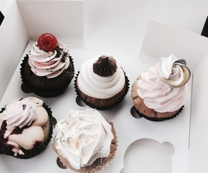 cupcakes, dessert, and food image