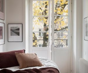 autumn, home, and bed image