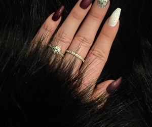 christmas, fashion, and nails image