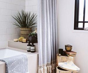 bathroom, chic, and decoration image