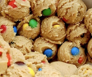 food, cookie dough, and cookie image