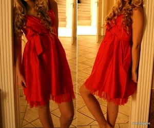 dress, christmas clothes, and girl image