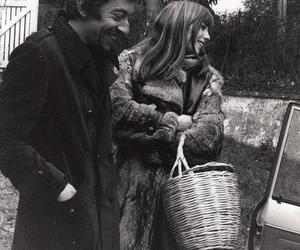 french, jane birkin, and serge gainsbourg image