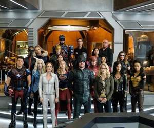 arrow, legends of tomorrow, and Supergirl image
