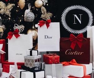 christmas, dior, and cartier image