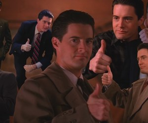 90s, Kyle MacLachlan, and dale cooper image
