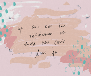 quotes, pink, and art image