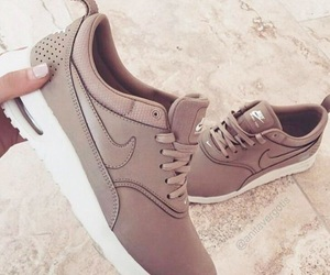 nike, shoes, and brown image
